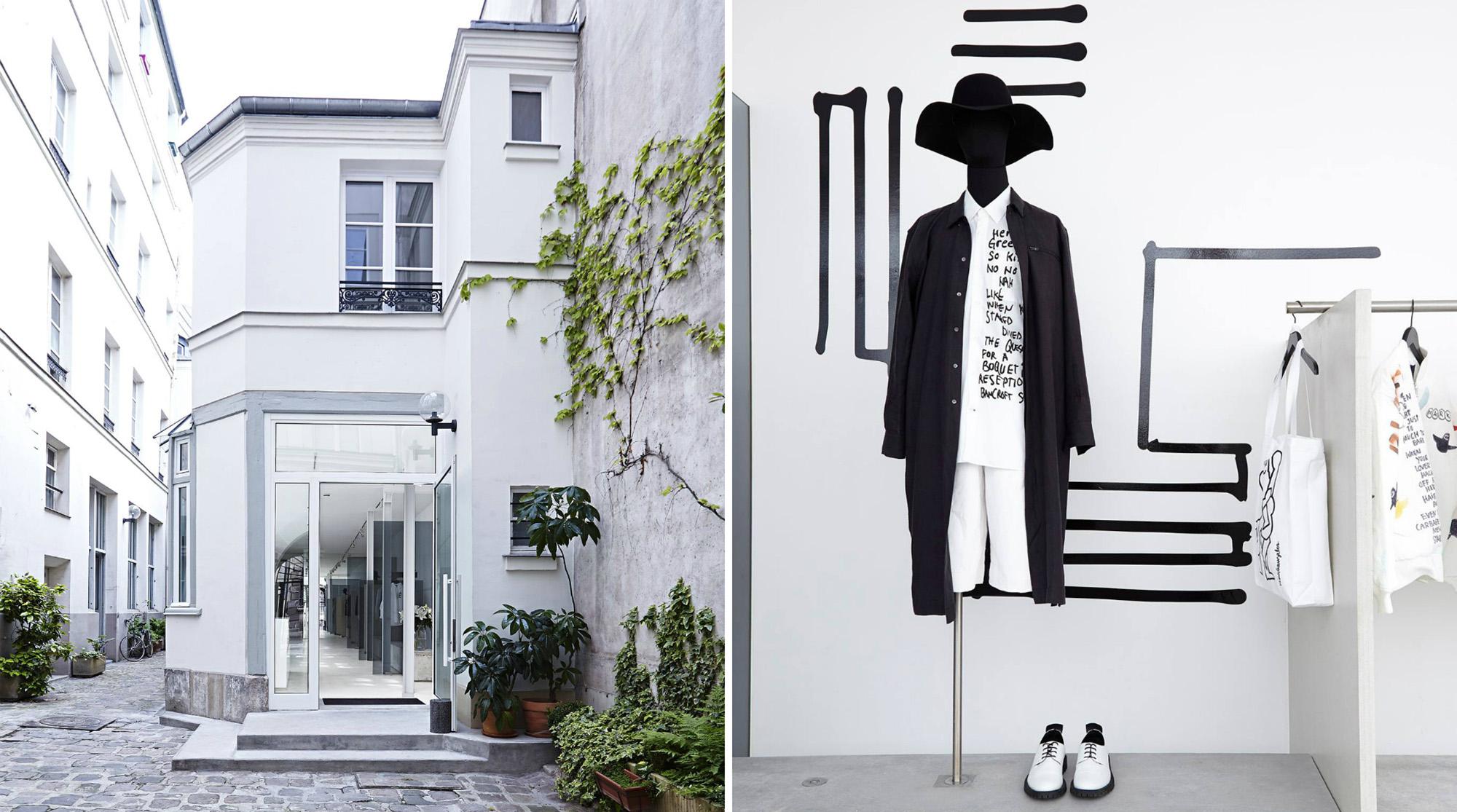 French menswear brand Etudes Studio