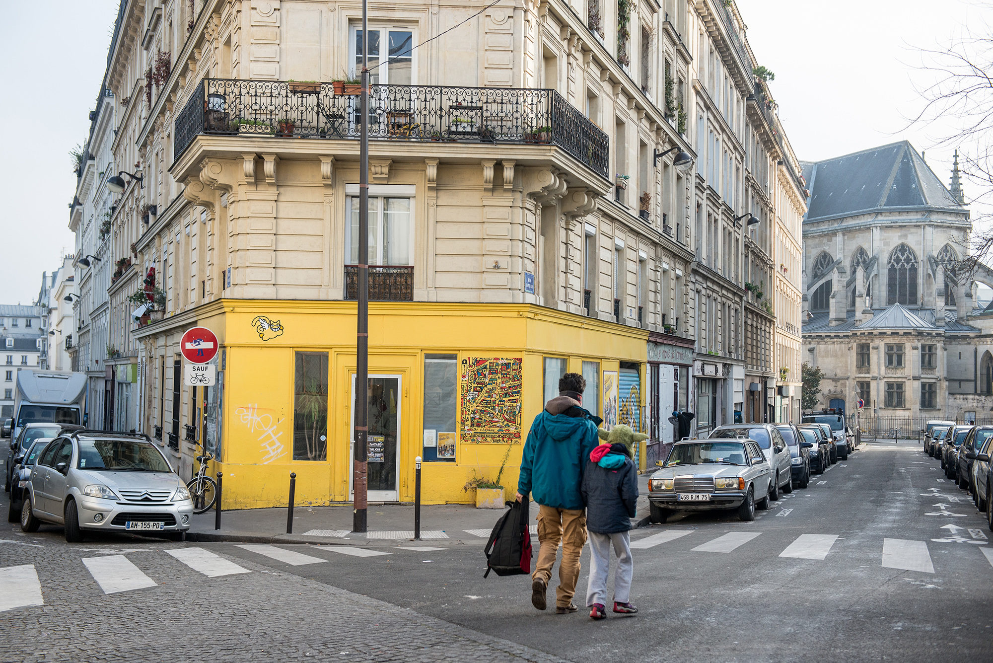 rue Myrha in the Goutte d'Or, Paris