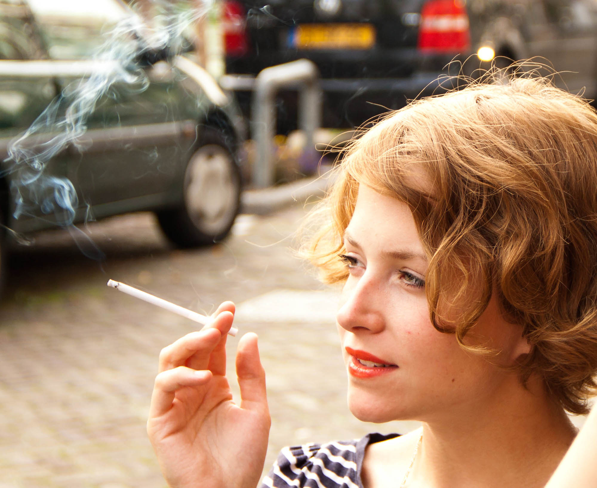 Smoking in Paris