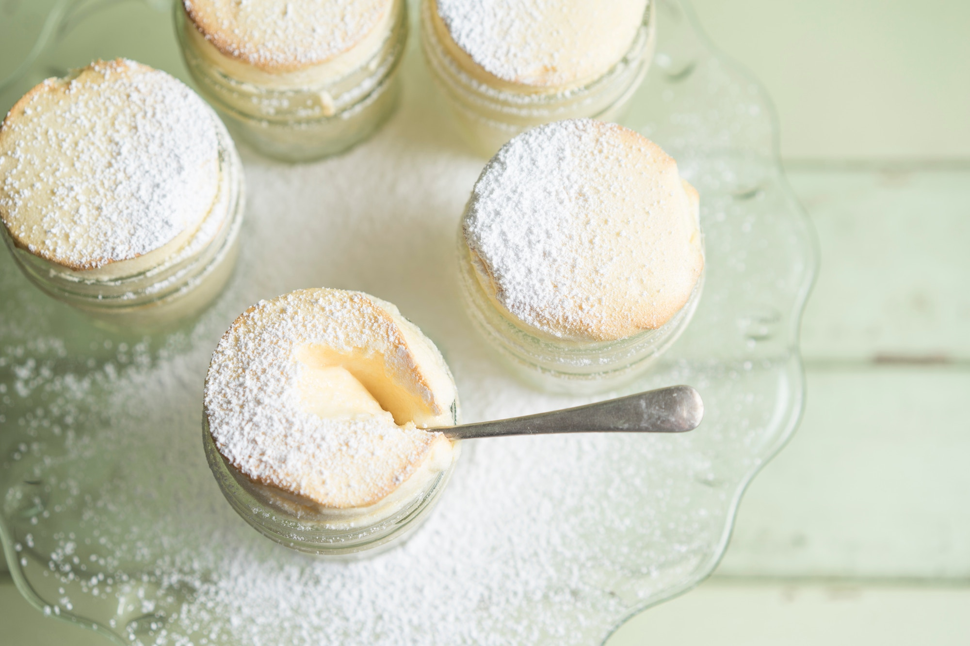 HiP Paris Blog rounds up where to eat the best souffle in Paris, like these lightly-dusted pots of souffle.