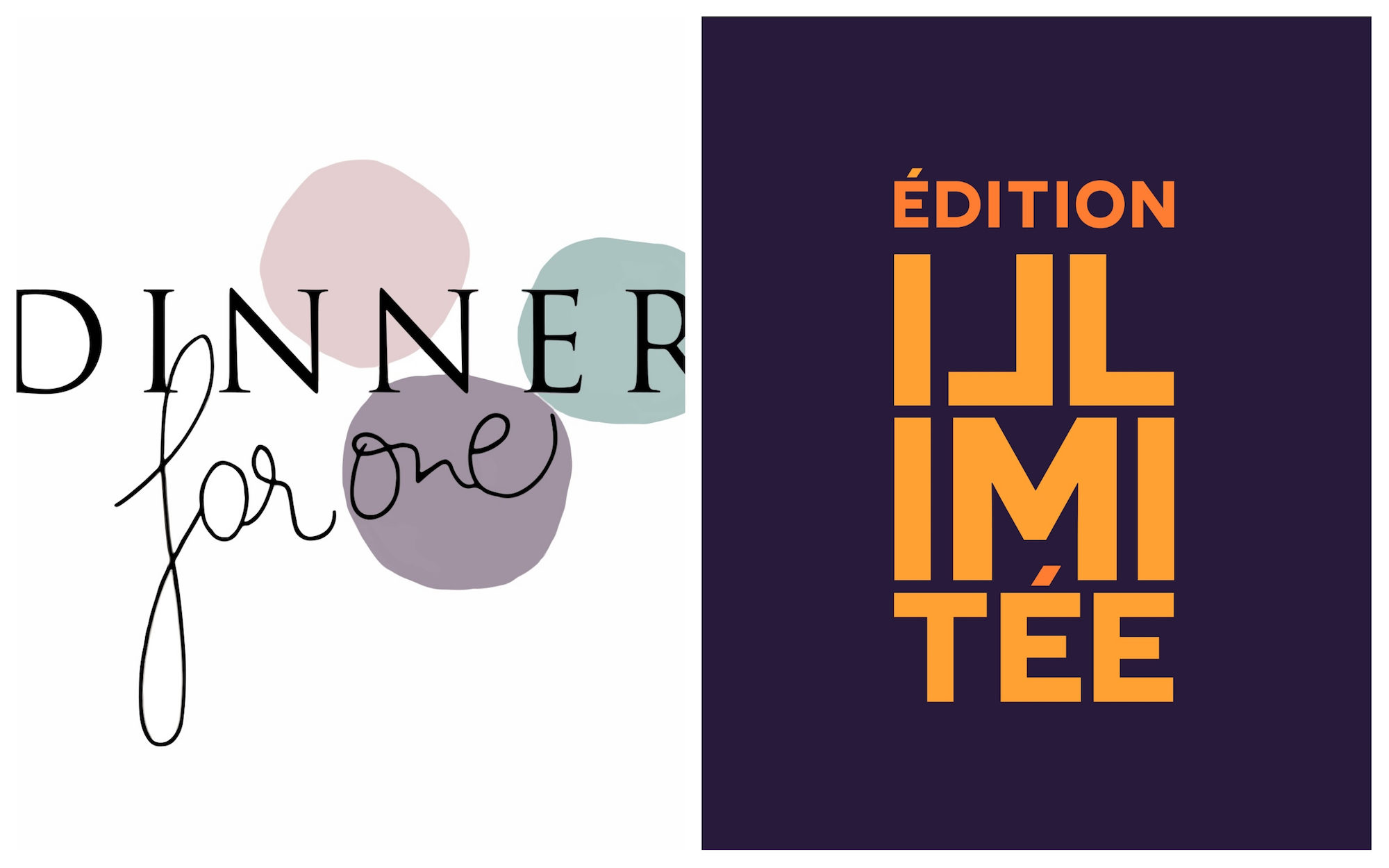 HiP Paris Blog rounds up the best French podcasts to listen to this summer like Dinner for One (left) and Edition Illimitée (right).