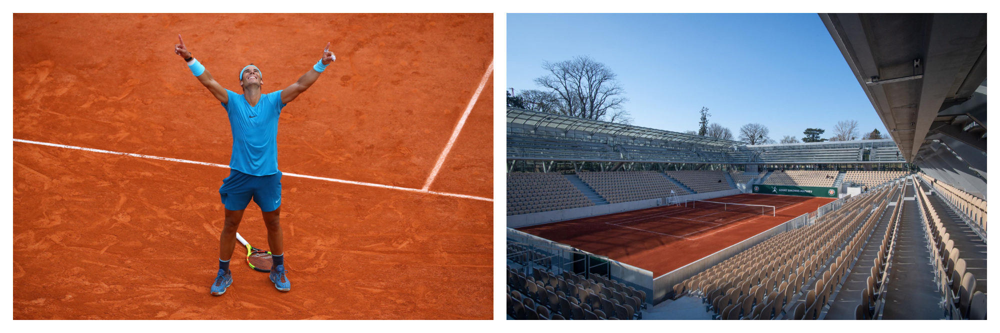 May in Paris is also about Rolland Garros, one the annual sports highlights in the city.