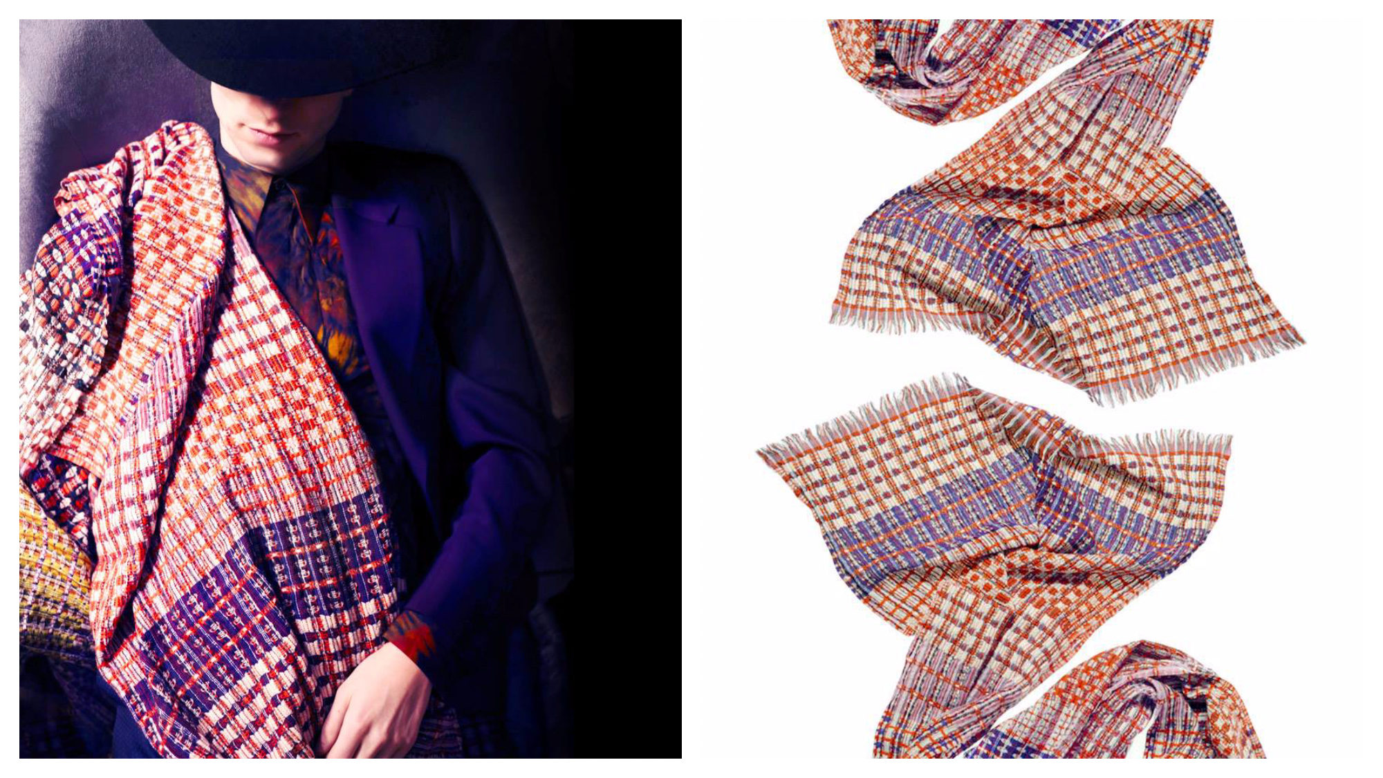 French accessories brand EPICE scarves.