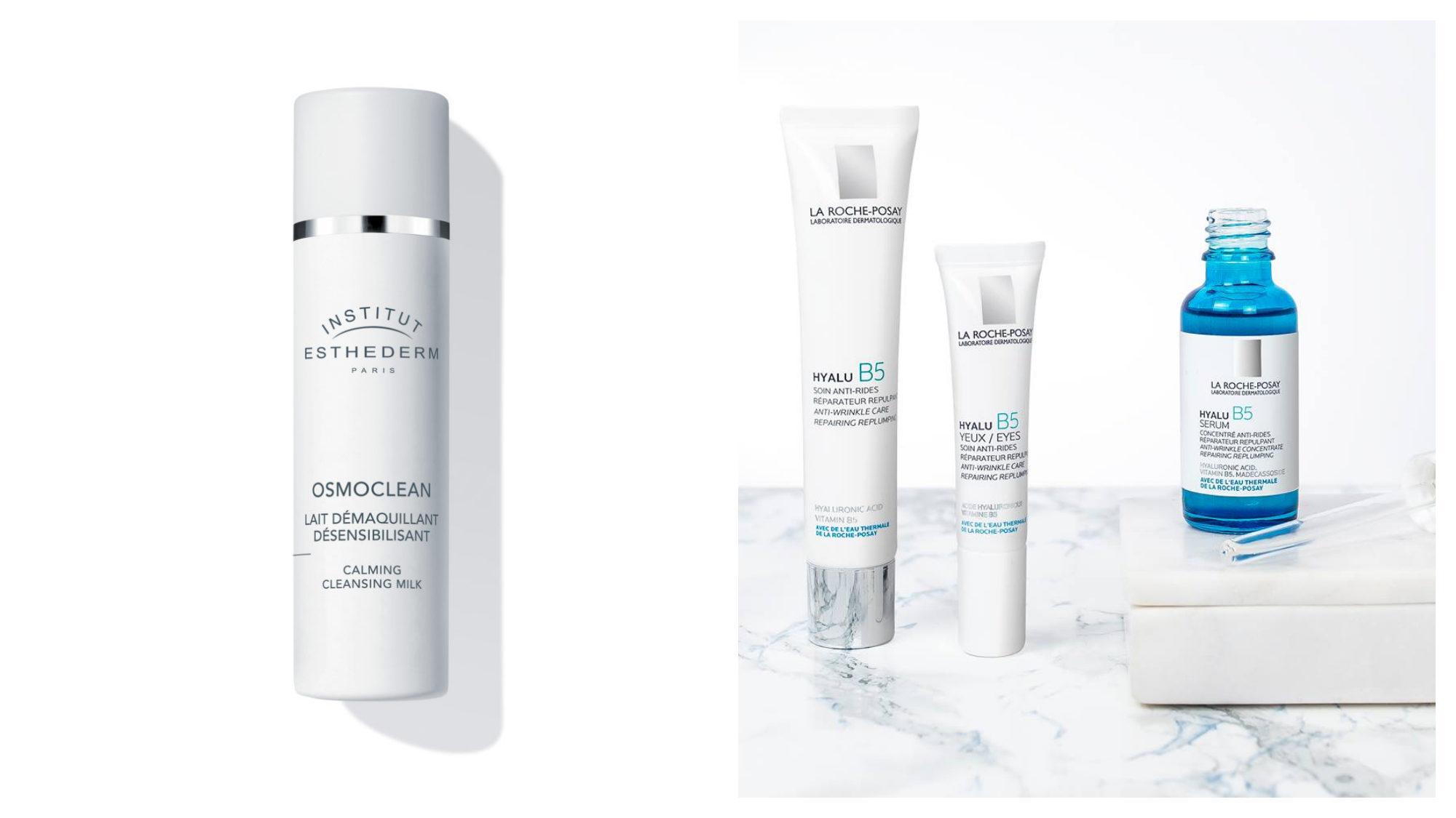 Esthederm Lait Démaquillant Désensibilisant, La Roche-Posay anti-ride anti-wrinkle products