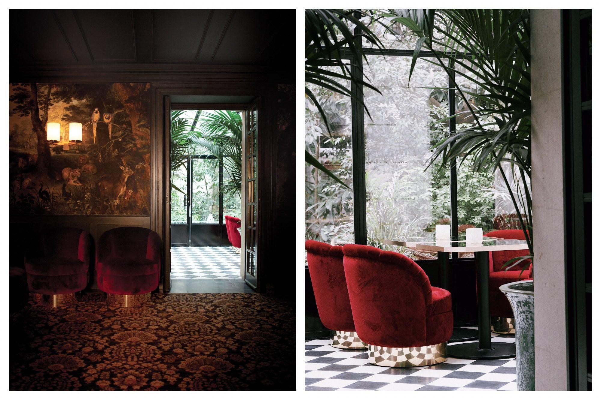 The moodily lit Très Particulier bar in Montmartre is a favorite hidden spot in Paris.