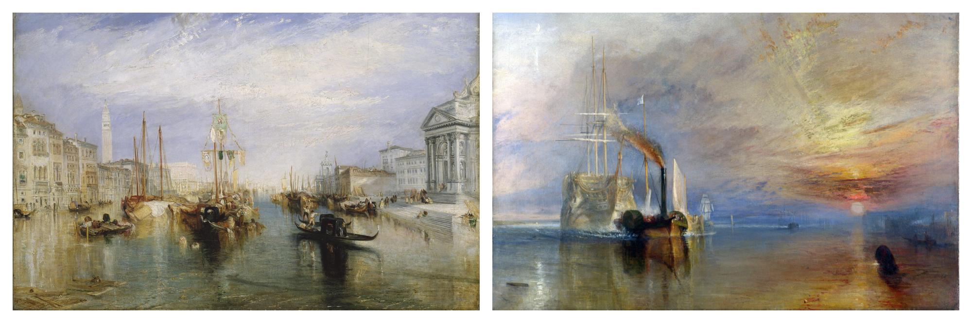 Atmospheric paintings of Turner are must-sees this season in Paris.