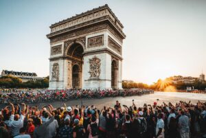 HiP Paris Blog – La Rentree Events – Tour de France A.S.O. : Jered Gruber & Ashley GruberLEAD
